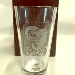 New in Box Slaughtered Lamb Pint Glass